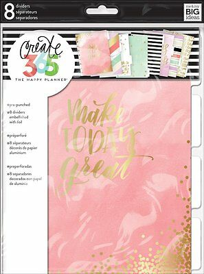 Me & My Big Ideas Create 365 CLASSIC Happy Planner Lovely Pastels Dividers DIV02