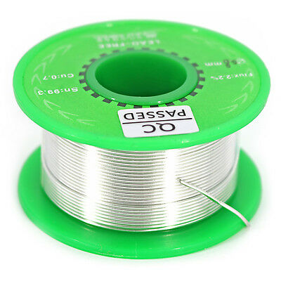 Tin Reel Solder Wire Lead Free Sn99.3 Cu0.7 for soldering and DIY 0.8mm Silver