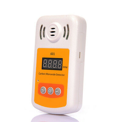 New LCD CO Carbon Monoxide Detector Battery Operated W/Light Flash & Sound Alarm