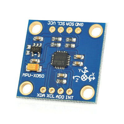 GY 52 MPU 6050 3 Axis Gyroscope + Accelerometer 6 Axis Stance Tilt Module