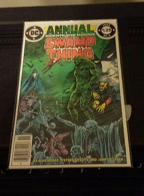 Swamp Thing Annual No 2 1985 DC Comics Alan Moore Comic Book Bissette Totleben