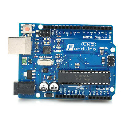 Funduino UNO R3 ATMEGA328 Compatible Board Microcontroller for Arduino