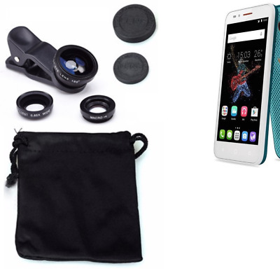 Alcatel One Touch Go Play Camera Set Fish Eye Wide Angle Macro Lens auxiliary
