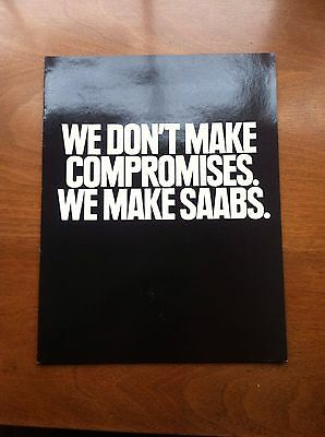 1991 Saab 900 & 9000 Sales Brochure, Original Item