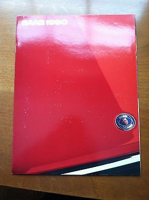 1990 Saab 900 & 9000 Sales Brochure, Original Item