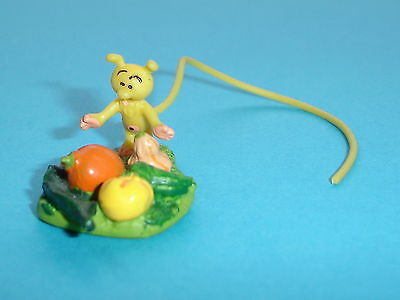 Figurine De Collection Plastoy Marsupilami Petit Marsu Avec Fruits