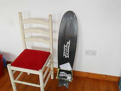 "Large Brand New No Fear 40"" Longboard  Deck With Griptape"
