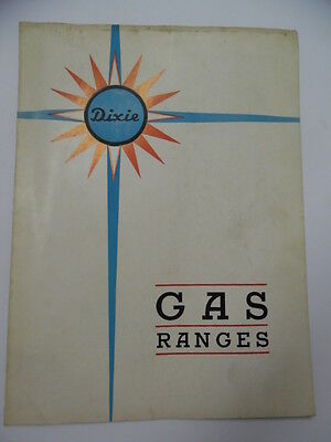 c.1934 Dixie Foundry Company Gas Range Stove Cookers Catalog Cleveland Tennessee
