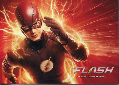 The Flash Season 2 Complete 72 Card Base Set