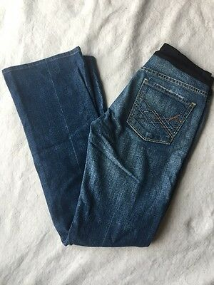 Maternity CITIZENS of HUMANITY Jeans 27 X 30 BELLY PANEL Lowrise Distressed BOOT