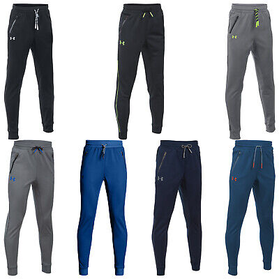 Under Armour Junior Pennant Tapered Trousers - New Jogger Training Bottoms Pants