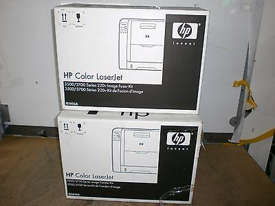 Genuine Hp Color Laserjet 3500/3700 Image Fuser Kit & Image Transfer Kit !!