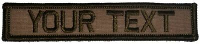 1x5 Custom Military / Police Name Tape / Text Patch