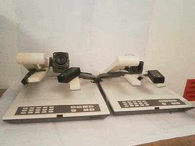 JOB LOT 2 x Unbranded Visualizer Desktop Visual Presenter + 2 x AC Adapter **