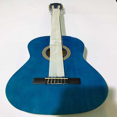 Ebay Item - Tiger 3/4 Size Classical Guitar Blue - Imperfections