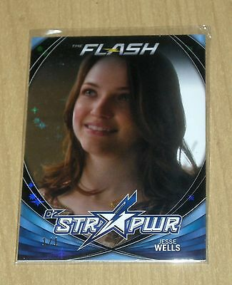 2017 Cryptozoic FLASH season 2 character bio STR PWR BLACK Jessie Wells CB09 1/1