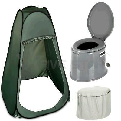 Outdoor Instant Pop Up Tent Portable Camping Toilet Shower Changing Privacy Room