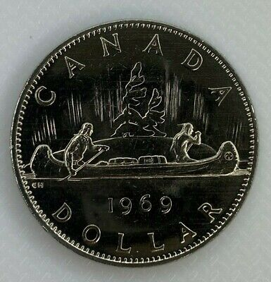 1969 Canada Voyageur Dollar Proof-Like Coin