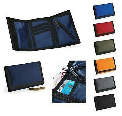 Mens Boys Ripper Wallet  Tri Fold Travel Sports Gift UK Trifold 7 colour choices