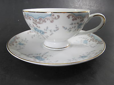 Imperial China designed by W Dalton Seville Footed Cup and Saucer Set