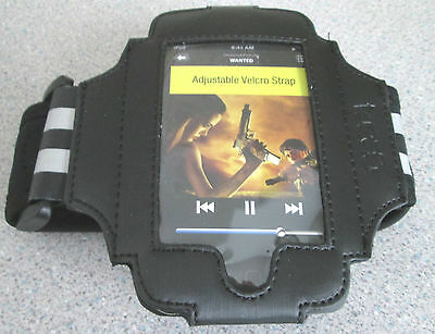 Gear4 sports/gym armband,IPOD TOUCH 2/3 Gen,Black,Adjustable,Reflective stripes