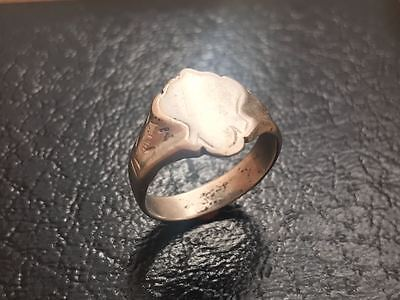 The silver ring of the 19th century. Rare. Excellent. The original!