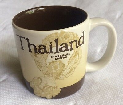 Starbucks Mug Thailand Collector Series 2009 3 Oz