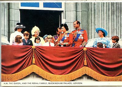 CP Royaume-Uni United Kingdom - The Queen and the Royal Family