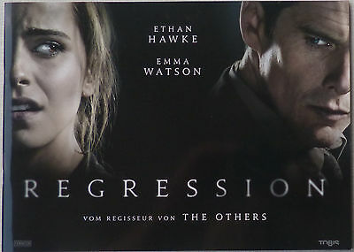 REGRESSION - wonderful Presskit/Pressbook - Ethan Hawke, Emma Watson