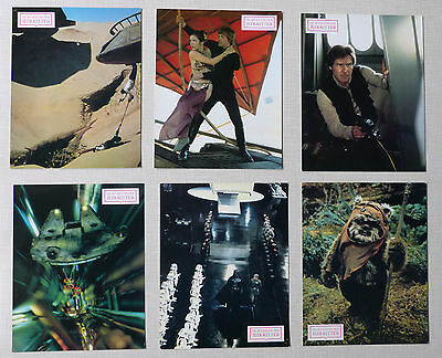 THE RETURN OF THE JEDI - Lobby Cards Set of 22 - STAR WARS - FORCE AWAKENS