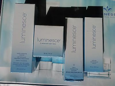 JEUNESSE LUMINESCE™(4):Siero+Notte +Giorno+Detergente/Serum Night Daily Cleanser