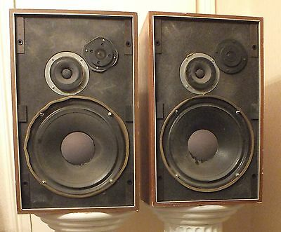 Two Genuine Vintage Goodmans Magnum SL Speakers b