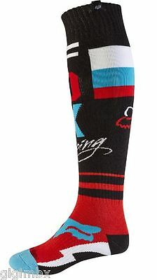 Fox Socken Fr Rohr Thin Sock Schwarz Sportsocken Motocross Enduro