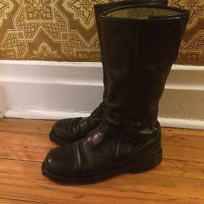 vintage '1980 biker motorcycle motocross mens boots size 10? gay interest