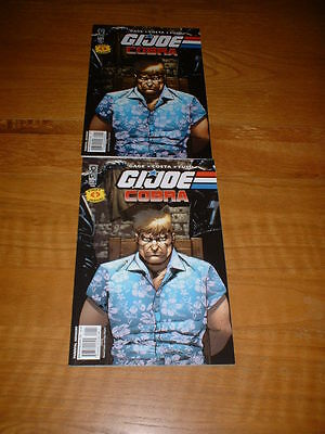 G.i. Joe ; Cobra 1. Unique Error Issue, Uber Rare. Nm Cond. Mar 2009. Idw