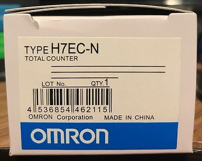 New Replacement for OMRON H7EC-N Self-Powered 8 Digit Total Counter