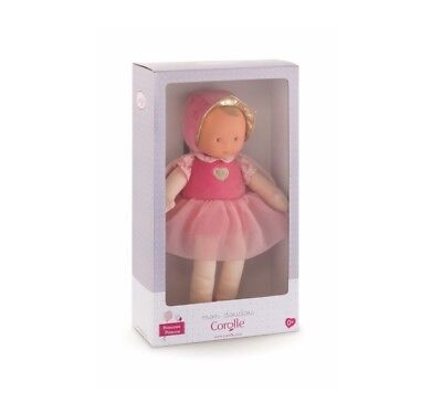 """Princess Pink Cotton Flower 12"""" Small Baby Doll"""