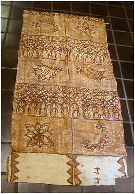 Vintage Tapa Tonga Great for Wall Hanging 191x96cm. Have more same estate #2