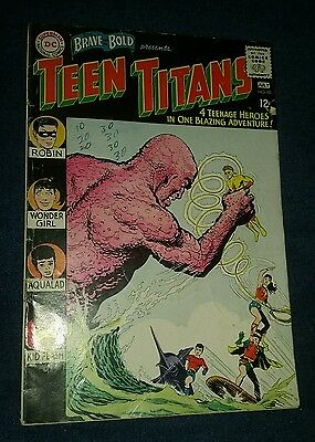 BRAVE AND THE BOLD #60 2nd Teen Titans 1st appearance Wonder Girl Donna Troy new