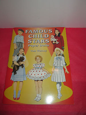 Famous Child Stars Paper Dolls by Tom Tierney - Dover NEW!