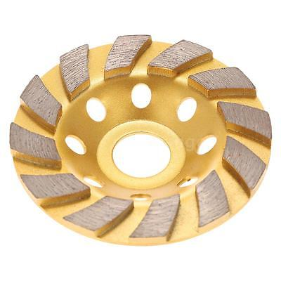 100mm Diamond Grinding Wheel Cup Cutting Disc Concrete Stone Marble Masonry Tool