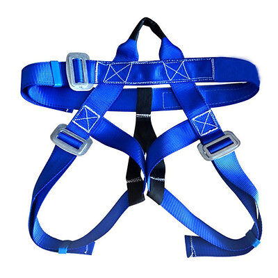 2pcs Rappelling Rock Climbing Harness Seat Safety Belt Rescue Downhill Equipment