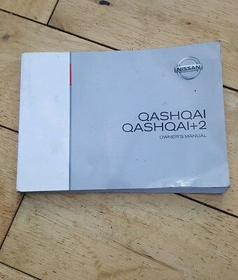 Nissan Qashqai J10,owners handbook,Good useable condition.Publication year 11.