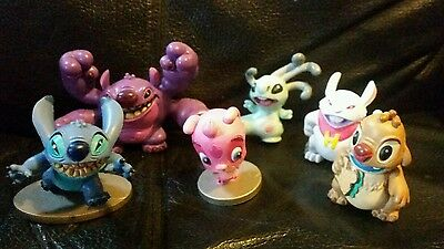 DISNEY STORE EXCLUSIVE Lilo and Stitch ALIEN ACTION PLAYSET figures VR VHTF