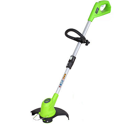Greenworks G24LT 24v Cordless Grass Trimmer 300mm No Batteries