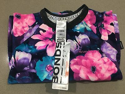 Bonds Baby Zip Zippy Wondersuit ''GYPSET BLOOMS'' Girls BNWT Size 0