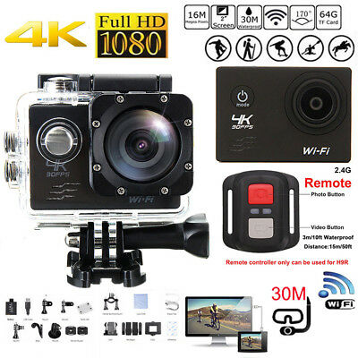 4K Ultra SJ8000R Wifi Sport Action Camera 2.0inch DV 1080P HD Cam DVR Waterproof
