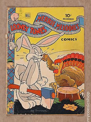 Looney Tunes and Merrie Melodies (1941 Dell) #38 FR 1.0 LOW GRADE