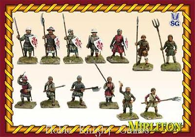 Mirliton SG Historical Mini 28mm Medieval Italian Militia Box MINT
