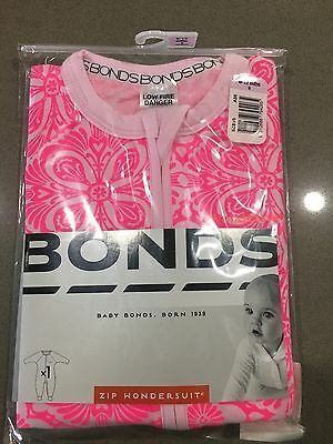 Bonds Baby Zip Zippy Wondersuit ''GIRLS MARAKESH MADNESS'' BNIP Size 0 RARE